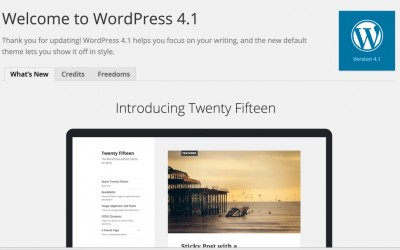 "WordPress 4.1 ""Dinah"""