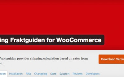 Bring Fraktguide for WooCommerce