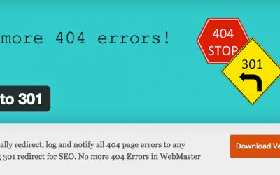 404 til 301 plugin med over 70,000 aktive installasjoner sender ut spam